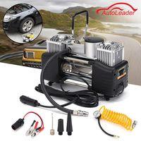 DC 12V 150PSI 150W 35L Min Double Cylinder Air Pump Compressor Car Tire Tyre Inflator Kit