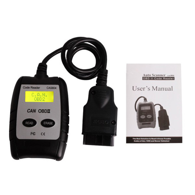 Professional Auto Scan Tool Read Erase Fault Code CAS804 CAN/OBDII Code Reader Auto Scanner Vehicles Diagnostic Tools