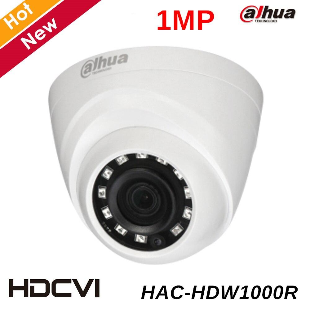 все цены на Dahua Coaxial Camera 1Megapixel CMOS 720P IR 20M indoor HAC-HDW1000R dahua cctv security camera dahua HDCVI DOME Camera