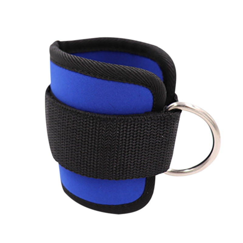 1 Pair Ankle Straps Nylon Rubber Leg Training Pull Rope Resistance Band Cover Wrap For Gym Sports Protect Tools