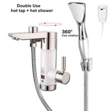 Instantaneous water heater tap electric tankless continuous hot heating for bathroom shower kitchen sink faucet mixer Asia plug