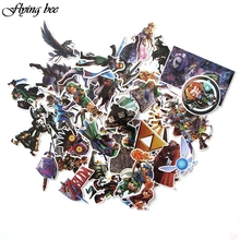 Flyingbee 44 pcs Creative Cool Sticker Anime Stickers for DIY Luggage Laptop Skateboard Car Motorcycle Stickers X0004 flyingbee 44 pcs creative cool sticker anime stickers for diy luggage laptop skateboard car motorcycle stickers x0004