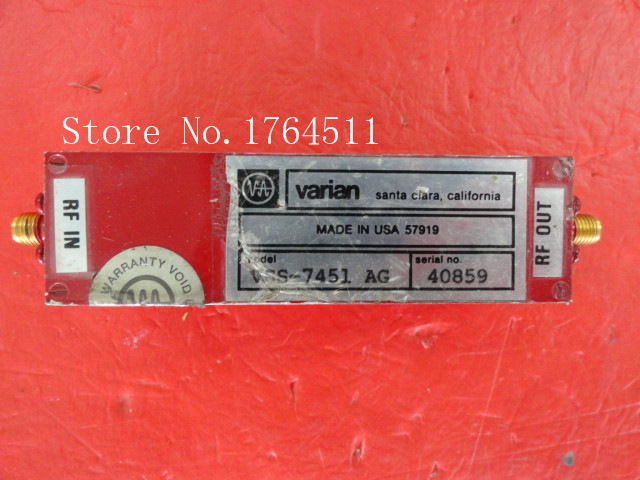 [BELLA] VARIAN VSS-7451AG 15V SMA Supply Amplifier