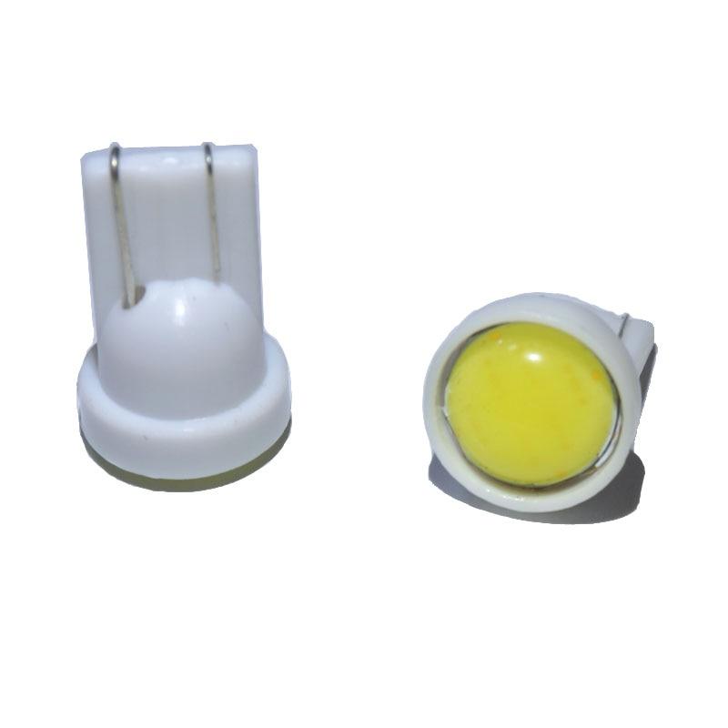 10pcs/lot T10 194 168 W5W 6 LED COB Chip Car Light Wholesale Car Bulbs White Red Blue green pink External Clearance Lights