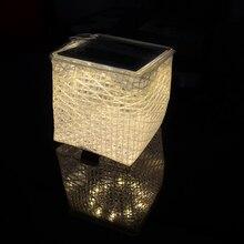 Solight Solarpuff Compacto Portátil LED Linterna Solar Cálida Luz Solar Flatpackable Inflable Cubo de Luz