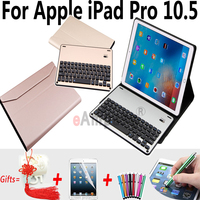 Aluminum Alloy Wireless Bluetooth Keyboard Case For Apple IPad Pro 10 5 New Cover For IPad