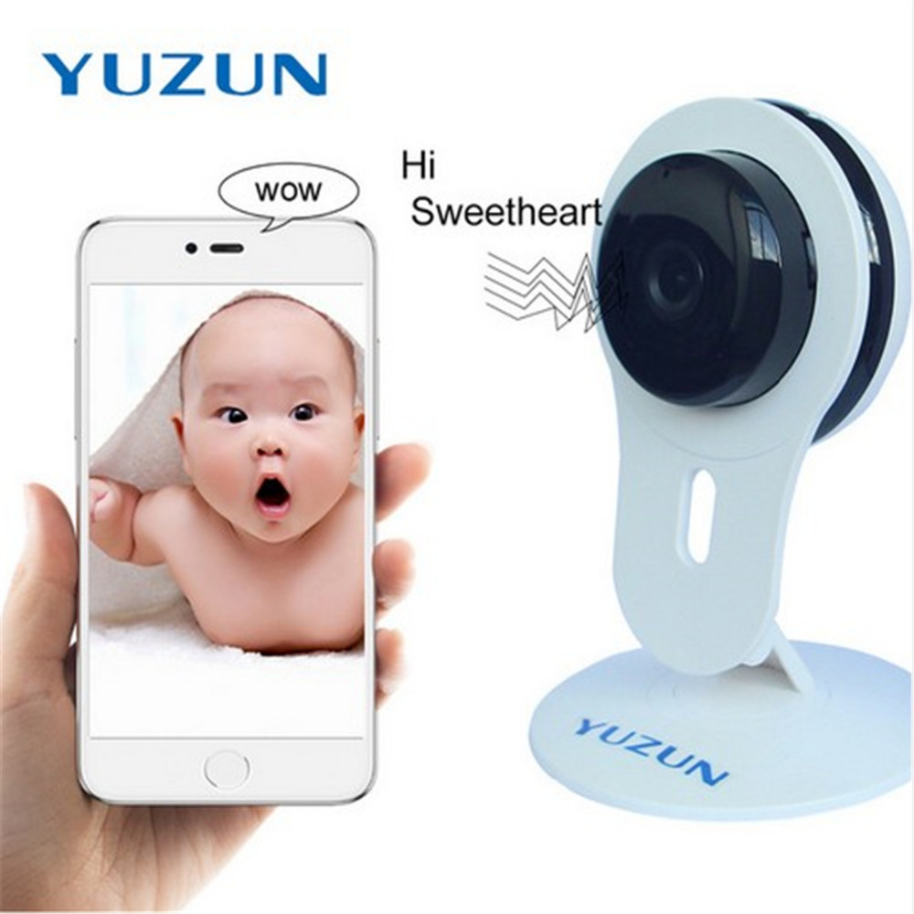 Home Security IP Camera Wi-Fi HD 720P Wireless Mini Surveillance Camera P2P Night Vision Baby Monitor Security Alarm Systems