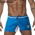 Seobean Brand Mens Leisure Boardshorts Nylon Men Active Boxer Shorts Trunks Man new Yogo Short Gay Casual Workout Cargo Jogger