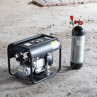 300bar 4500psi high pressure portable pcp electric air compressor car air compressor and PCP air pump
