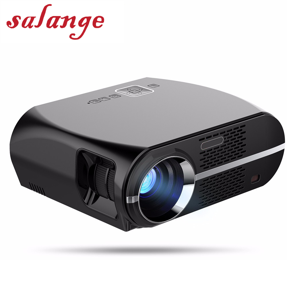 GP100 GP100UP Video Projector Smart Android 6.0.1 3200 Lumens WIFI Bluetooth Home Theater Projector 1080p HD Movie Game Beamer цена