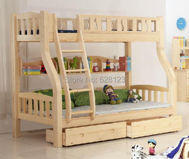 CRBD002 children furniture solid wood bed pine double-decker bunk bed. & CRBD002 children furniture solid wood bed pine double decker bunk ...