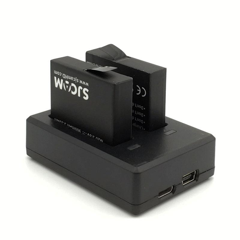 SJCAM M20 2PCS punjive litij-ionske baterije + 1kom punjive baterije - Kamera i foto - Foto 2
