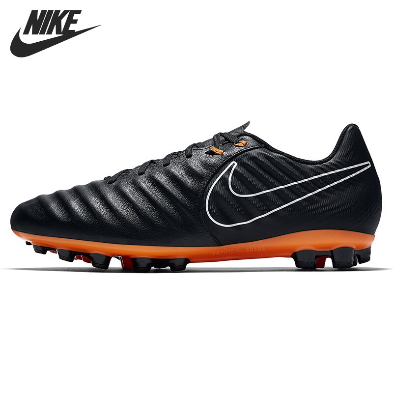 Original New Arrival 2018 NIKE (AG-R) Artificial-Grass Football Boot Men's Football Shoes Soccer Shoes Sneakers football field artificial grass soccer themed backgrounds vinyl cloth computer print wall nfl backdrops