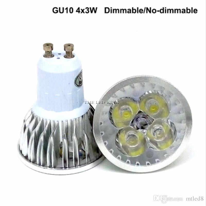 При заказе 1-10 штук супер яркий 9 Вт, 12 Вт, 15 Вт, GU10 светодиодный лампы 110 V 220 V затемнения Светодиодный прожектор теплый белый/холодный белый GU 10 светодиодный светильник