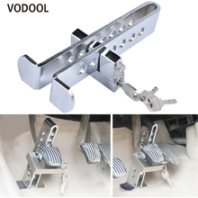 VODOOL Auto Brake Clutch Pedal Lock Stainless Steel Anti-The