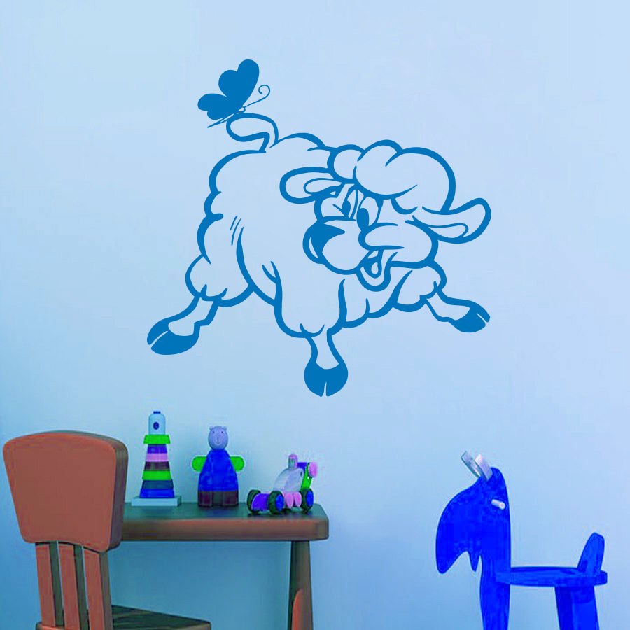 Online get cheap lamb wall decal alibaba for Cheap wall mural decals