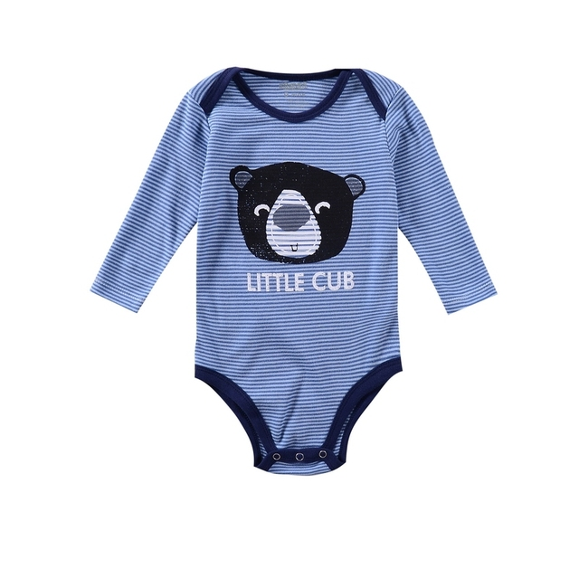Cartoon Unisex O-neck Newborn Spring Autumn Babysuit Long-sleeve Toddler's Cotton Bodysuits Baby Boy Girl Bodysuits Baby Clothes