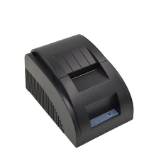 58mm bill printer mini POS thermal receipt printer support multi-language, QR code printing with paper for store and supermarket