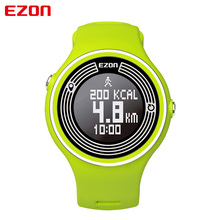 EZON multifunction smart casual sports waterproof electronic watches for men and women running WeChat connection pedometer