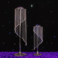 New style wedding props wedding crystal road lead Beatiful Crystal pillars Crystal Centerpiece for party 10pcs/lot