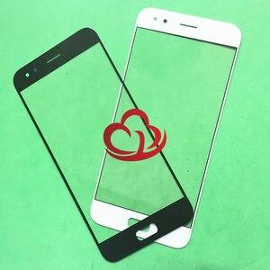 Image 1 - 10 sztuk wymiana ekran dotykowy LCD z ekranem dotykowym szklany obiektyw zewnętrzny dla Asus ZenFone 4 ZE554KL Z01KD Z01KDA