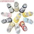 Copodenieve crianças shoes meninas sandálias princesa menina shoes crianças sandálias da moda plus size de couro cut-outs sandália da criança shoes