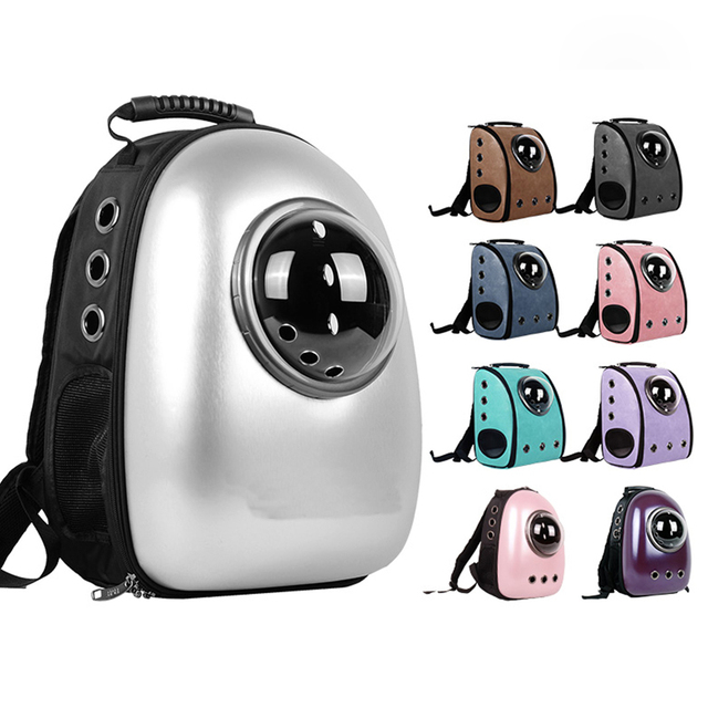 Space Cabin Pet Carrier Breathable Pet Cat Carrier Backpack Pet Dog Outdoor  Portable Package Bag Cat
