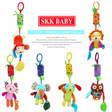 35cm Baby windbell wind-bell Teether bed Car hanging Rattle Stuffed Plush Doll Toy Toys Bell Ring Infant Puppet Animal B0630