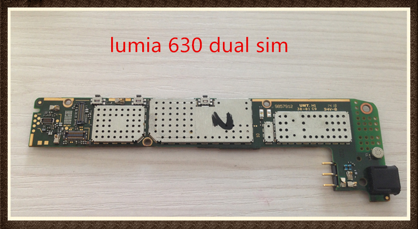 Choose Language ~Good quality Original Motherboard For  lumia 630 dual sim free shipping