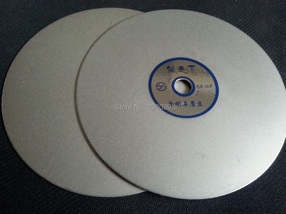6 Inch Diamond Flat Polishing Discs For Lapidary Grit #600