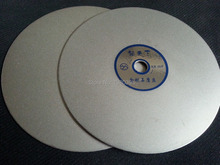 6 inch diamond flat polishing discs for lapidary grit #600