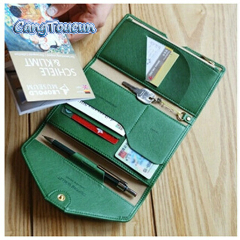 brand women travel leather passport cover men passport holder credit card bag organizer protector passport case wallet purse P02-in Card & ID Holders from Luggage & Bags on Aliexpress.com | Alibaba Group