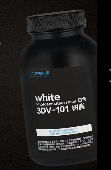 LCD SLA light curing 3D printer LCD photosensitive resin 3D printing consumables model resin model design