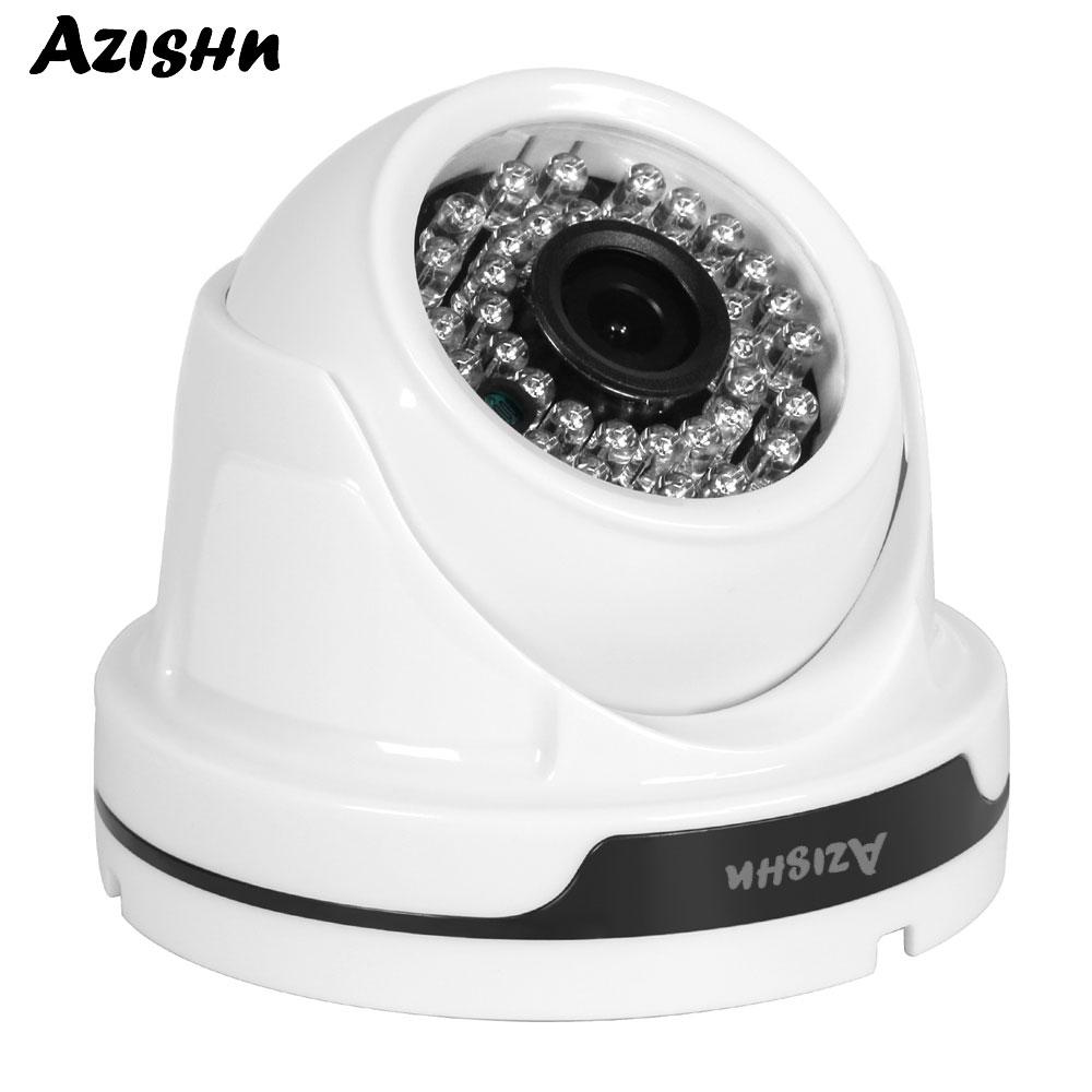 AZISHN AHD 1080P 2.0MP 1920*1080 HD CCTV Camera Sony IMX323 Sensor 36PCS IR LEDS Night Vision Surveillance indoor Dome CameraAZISHN AHD 1080P 2.0MP 1920*1080 HD CCTV Camera Sony IMX323 Sensor 36PCS IR LEDS Night Vision Surveillance indoor Dome Camera