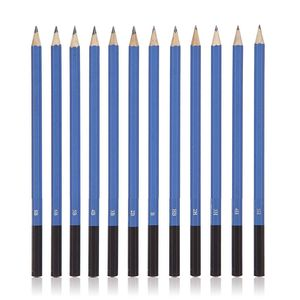 Image 2 - 40 Piece Drawing Pencils and Sketch Set in Pop Up Zipper Case   Includes Graphite, Pastel and Charcoal Pencils and Accessories