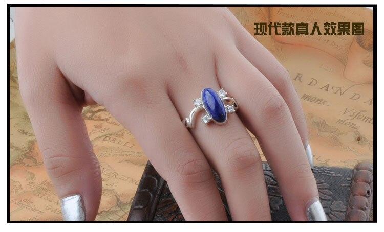 Le Vampire Diaries Elena Anti soleil antique 925 en argent Sterling anneau cadeau pour les Fans film bijoux anneaux livraison directe Cool - 5