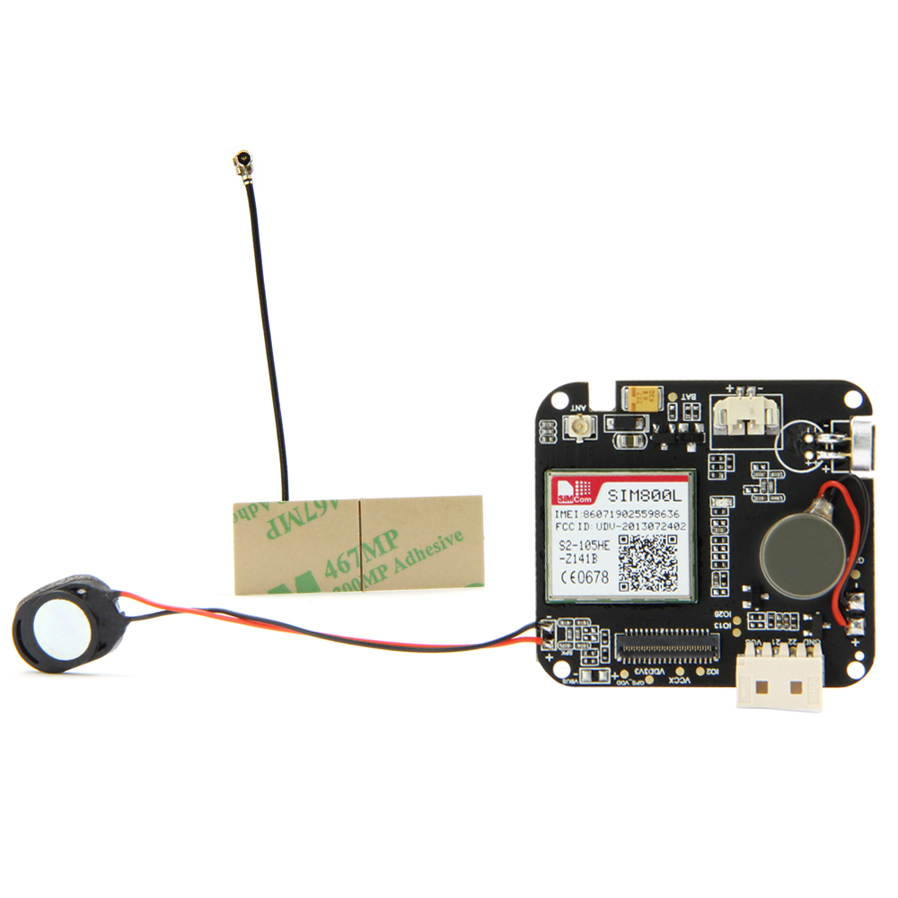 TTGO T-Watch LORA GPS-M8N SIM800L Bottom PCB Board For Environmental Interaction WiFi Bluetooth ESP32 Lora Development ESP8266