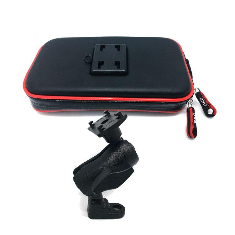 Buzzlee Универсальный мопедов мотоциклов зеркало заднего вида крепление мобильный телефон подставка держатель для iPhone X 8 с Водонепроницаемый …