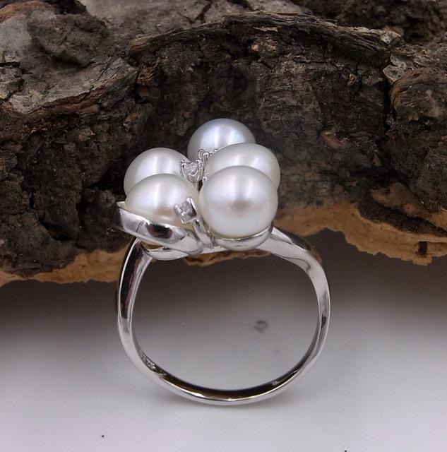 Genuine Natural Freshwater Pearl Ring