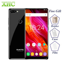 OUKITEL MIX 2 5.99 pouce Smartphones 6 GB + 64 GB Double Caméras Arrière D'empreintes Digitales ID Android 7.0 Octa Base LTE 4G Dual SIM Mobile Téléphone
