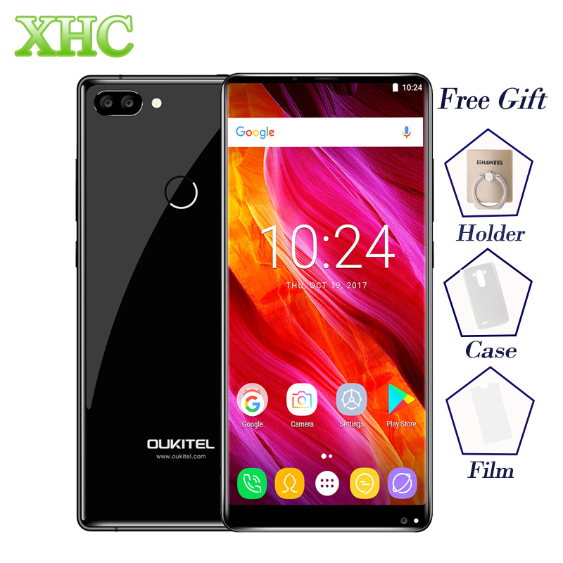 OUKITEL MIX 2 5.99 inch Smartphones 6GB+64GB Dual Back Cameras Fingerprint ID Android 7.0 Octa Core LTE 4G Dual SIM Mobile Phone