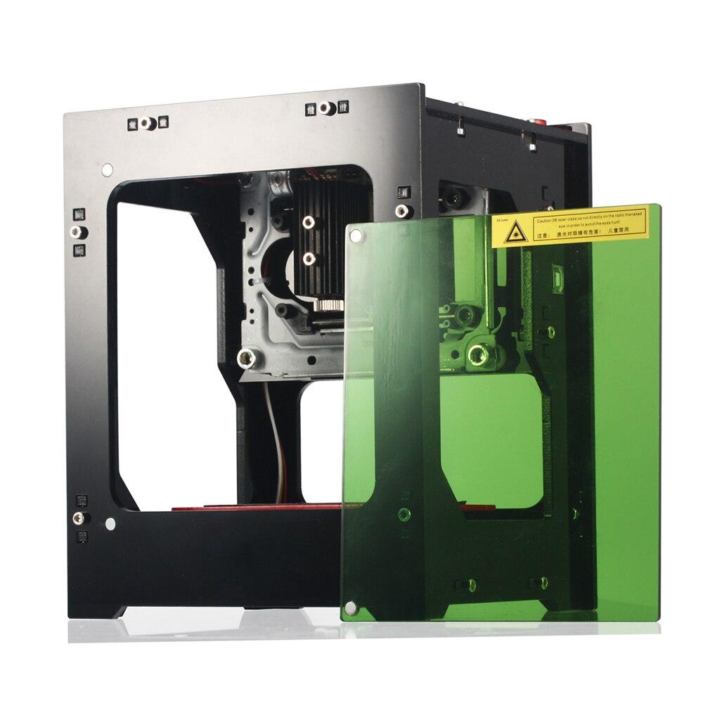 1000 mw laser imprimante Amélioré USB Laser Carver impresora 3D laser Graveur Imprimante Laser Machine De Gravure BRICOLAGE Logo Marquage
