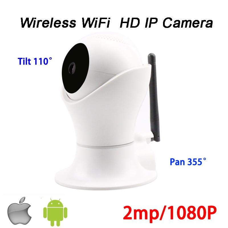 1080 p 2mp P2P PTZ Rotation Alarme 9 pcs Tableau led Infrarouge de Vision Nocturne Sans Fil Wifi IP Smart Panoramique CCTV caméra Livraison Gratuite