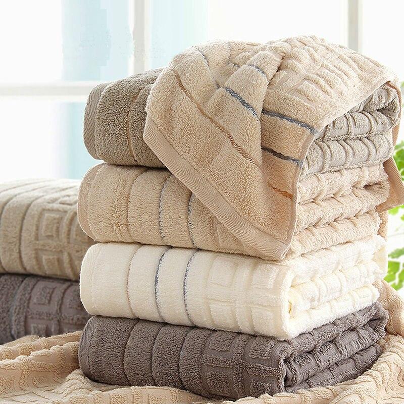 100 cotone telo da bagno per adulti morbido assorbente asciugamani da spiaggia di marca di