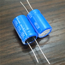 10 шт. 220 мкФ 100 В Nichicon серии bt 16×25 мм высокой надежностью надежность 100v220uf Алюминий электролитический конденсатор