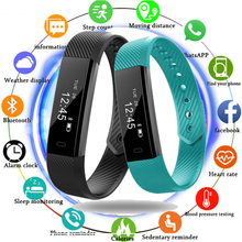 2019 New Smart Wristband Fitness Tracker Band Bluetooth Sleep Monitor Watch Sport Bracelet for ios Android Phone pk Fit Bit Mi 2 ip68 swim color touch smart watch hr bp o2 smart wristbands monitor fitness bracelet for ios xiaomi honor pk mi band 2 fit bit 3