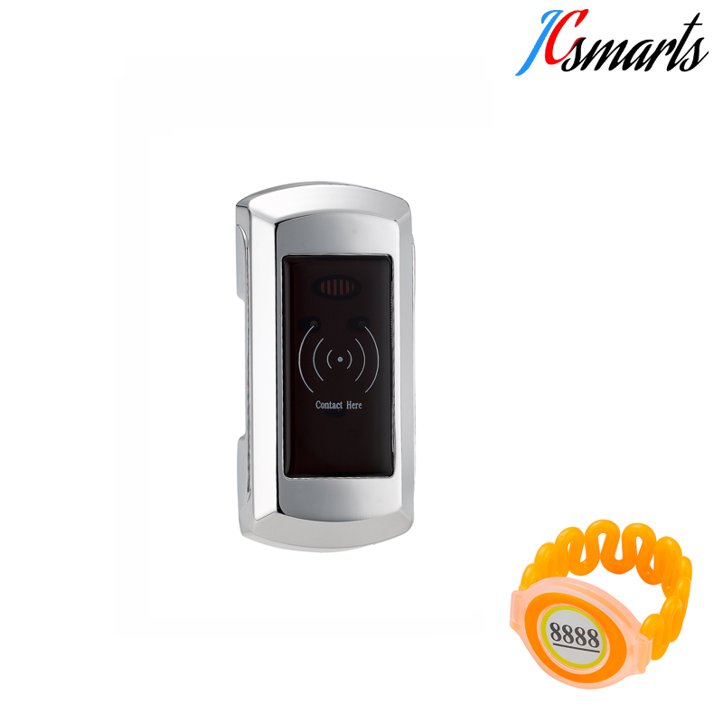 Electronic ID Locker Lock and Keys Cabinet Sauna with full waterproof Wristband Key factory direct sales induction id sauna lock intelligent bath center door cabinet locker code lock