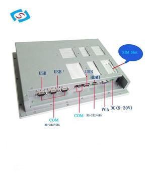 12.1'' fanless capacitive touch panel PC