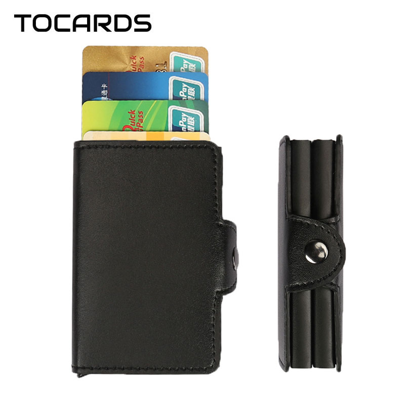 Hot! Automatic Aluminium ID Credit Card Holder