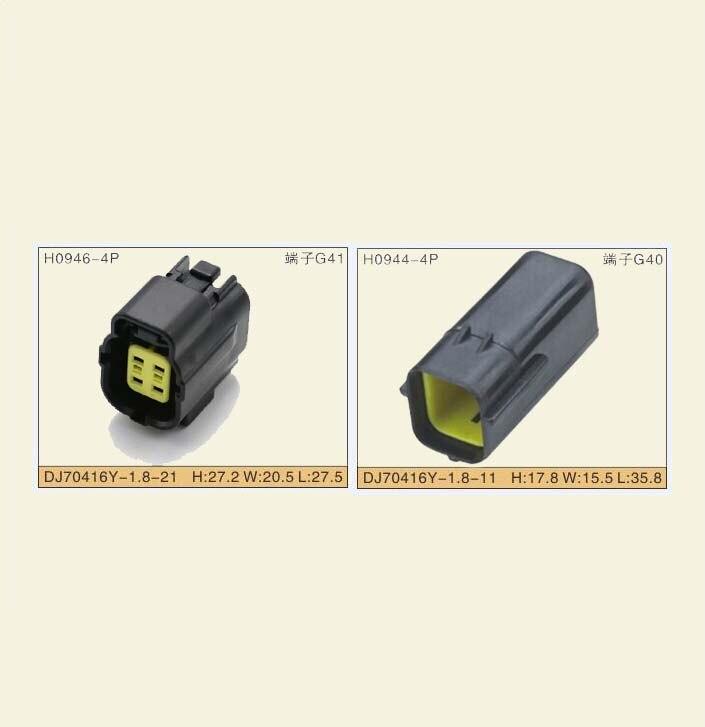 Livraison gratuite 4 broches femelle mâle automobile prise électrique connecteur étanche 174257-2 174259-2 pour MAZDA 626 98-00 Oxyg